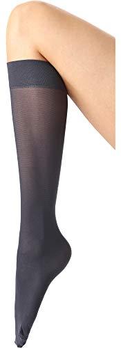 Merry Style Chaussettes Collant Mi-Bas Femme MSSST8001 (Jean Foncé, Taille unique)
