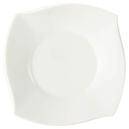 NARUMI(ナルミ) プレート 皿 フォルテ ホワイト 18(16)cm スクエア 電子レンジ温め対応 50460-5265