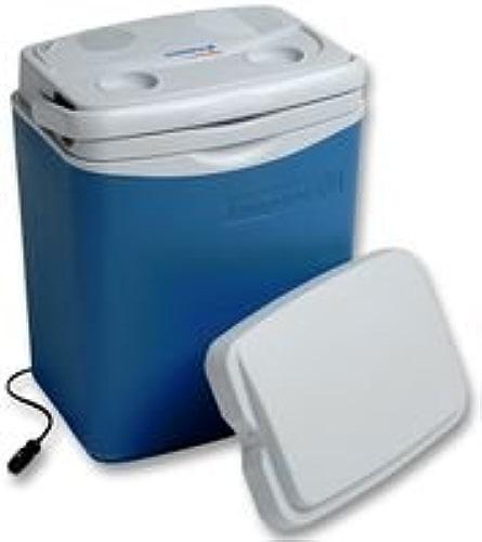 Campingaz Glacière Rigide Powerbox Deluxe 28 litres - Electrique ou Passive grace à ses 2 Couvercles