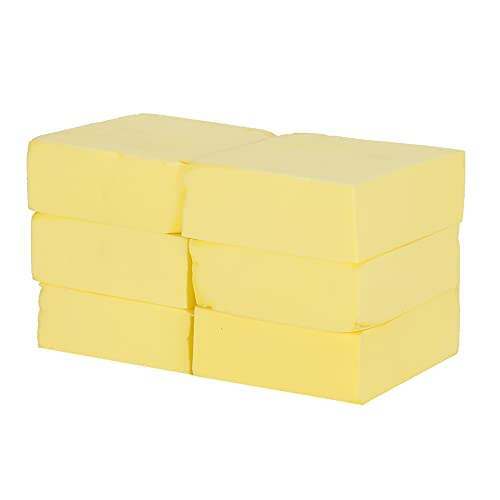 Esponja de baño Cómoda esponja de ducha para mayor comodidad para uso en el baño para exfoliar(Small square yellow)