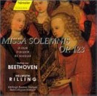 Missa Solemnis Op 123 in D Major