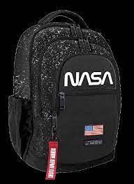 Cr Group Zaino Americano Triplo Scuola e Tempo Libero - NASA