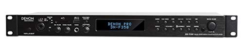 Denon Professional DN-F350 – Rackmount Solid-State Media Playing with Bluetooth, USB, SD Card and Aux Inputs