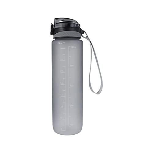 Hot Sports Water Bottle 1000ML Protein Shaker Outdoor Travel Portatile a tenuta stagna Bicchieri in plastica My Drink Bottle BPA Free-France,1000ml,01