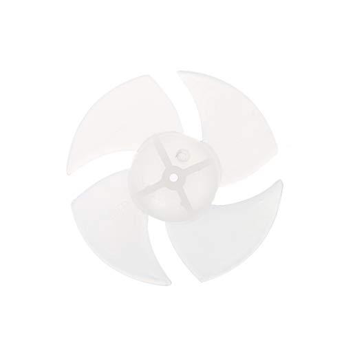 TY-UNLESS Mini-Kunststoff-Ventilatorblatt für Haartrockner mit 4/6 Blättern, 4, One size
