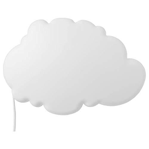 IKEA Dekolampe 'Drömsyn' Wand-Leuchte in Wolkenform - 31 x 21 cm - weiß - weiches Stimmungslicht
