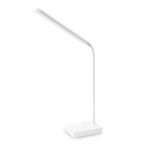 FENRIR Lámpara Escritorio LED,Lámpara de Mesa,3 niveles de intensidad ajustables,cargador...