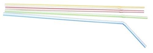 Fackelmann 54552 Knicktrinkhalme, Nicht zutreffend, mehrfarbig