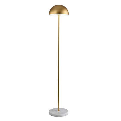 Lampes de chevet Lampadaire Lampadaire en Métal Moderne Minimaliste Salon Chambre Lampadaire Nordic Creative Personalité Or LED Lampadaire Vertical (Color : Gold, Size : 30 * 160cm)