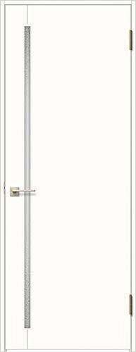 ラシッサS 標準ドア ASTH-LGC 錠付き 05520 W:648mm × H:2,023mm 吊元:左吊元 本体色/枠色:プレシャスホワイト(YY) 枠種類:ノンケーシング180(壁厚:146-160) 沓摺:なし 把手:サークルB 鍵種類:丸型簡易