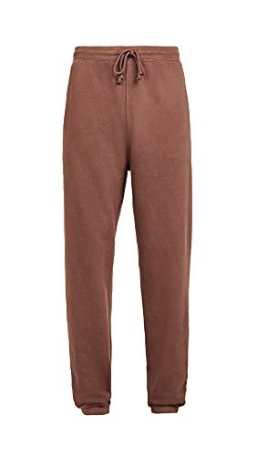 Madewell Men's Terry Sweatpants, Burnt Soil, Brown, Large