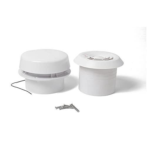 Deflector de aire acondicionado 12V RV Ahorro de energía para la autocaravana de la ventilación de la ventilación de la ventilación del ventilador de escape de enfriamiento sin ruido para casas Traile