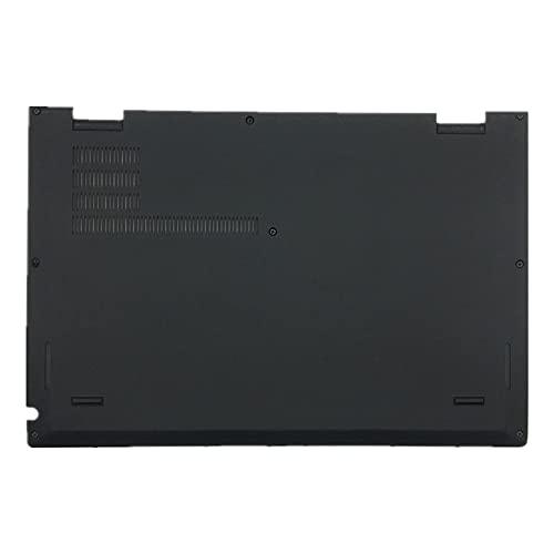 fqparts Cubierta Inferior de la Caja del Ordenador portátil D Shell para Lenovo ThinkPad X1 Yoga 1st Gen 2nd Gen 3rd Gen 4th Gen Color Negro 01AY911