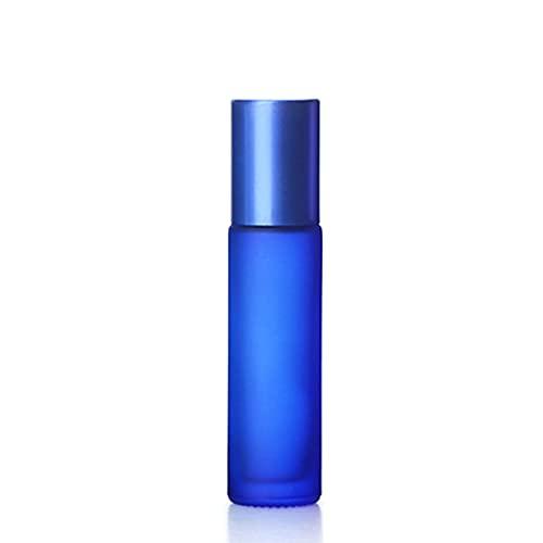 DZHTWSRYGR Atomizador 10 ml portátil de Color Esmerilado Rodillo de Vidrio Grueso Aceite Esencial Botella de Perfume Botella Recargable de Viaje