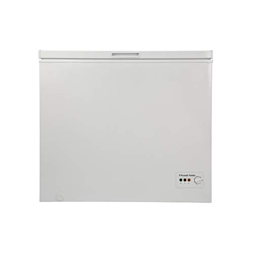 Russell Hobbs RHCF200 White 197 Litre Freestanding Chest Freezer- Free 5 Year guarantee*