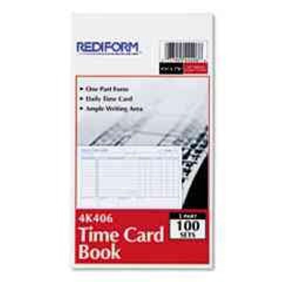 暴徒ライオネルグリーンストリートマニフェストRediform ? Daily従業員時間カードカード、DLY時間、4.25?X 7,100?32688?( 20個パック)