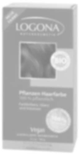 LOGONA Naturkosmetik Coloration Pflanzenhaarfarbe, Pulver - 020 Sahara - Rotblond, Natürliche & pflegende Haarfärbung (100g)