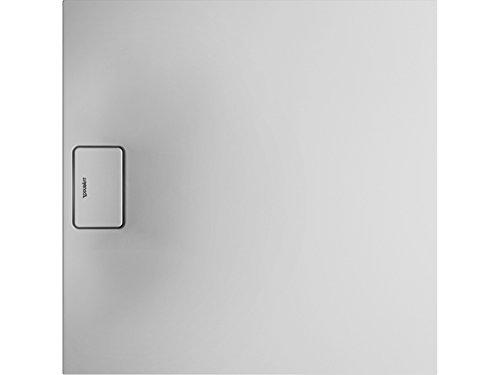 Duravit Stonetto douchebak, vierkant, DuraSolid Q, 900 x 900 mm, kleur: wit