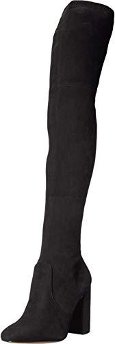 ALDO Maede Damen Overknee-Stiefel mit Blockabsatz, Schwarz (schwarz), 41 EU