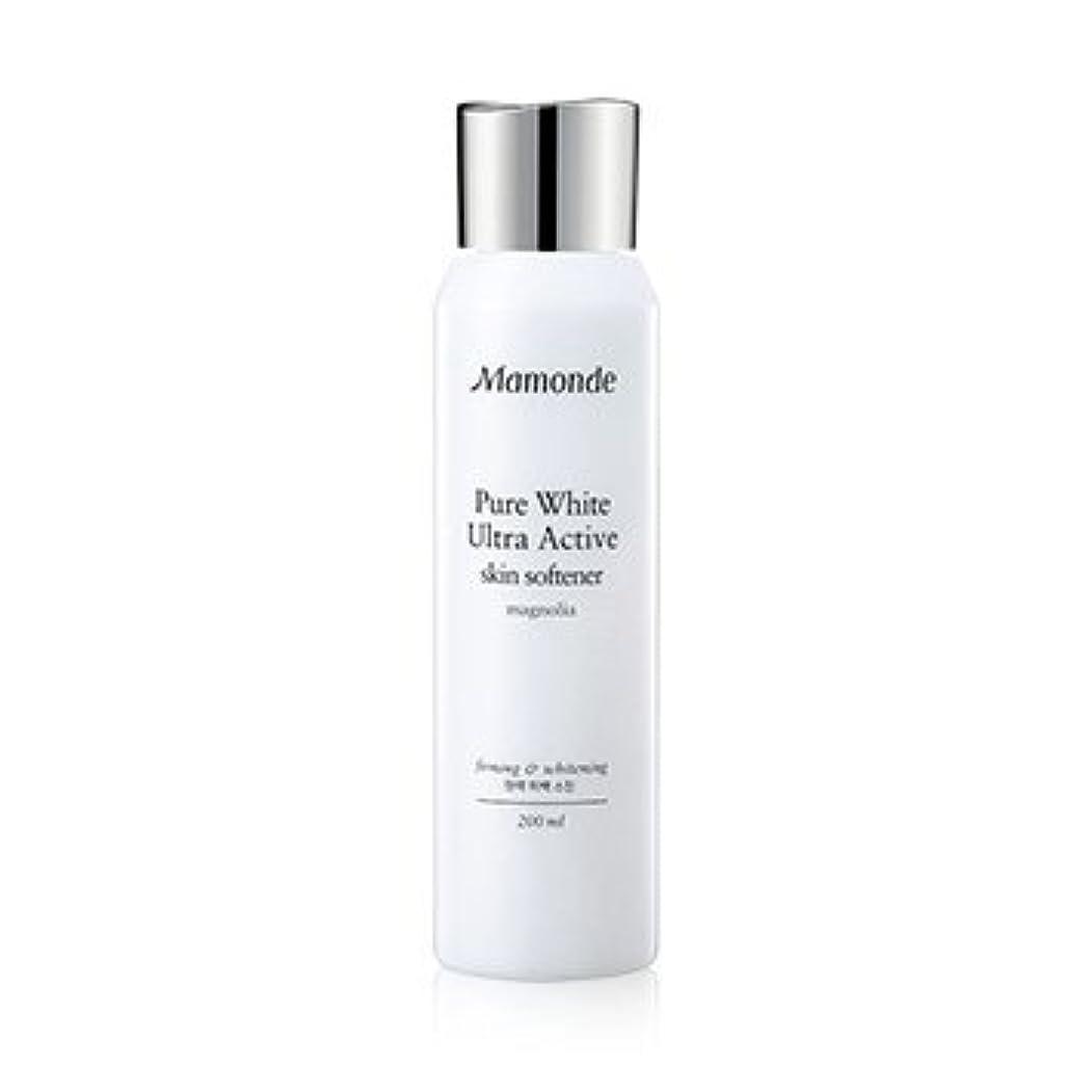 週末レンディション変装Mamonde Pure White Ultra Active Skin Softener 200ml/マモンド ピュア ホワイト ウルトラ アクティブ スキン ソフナー 200ml [並行輸入品]