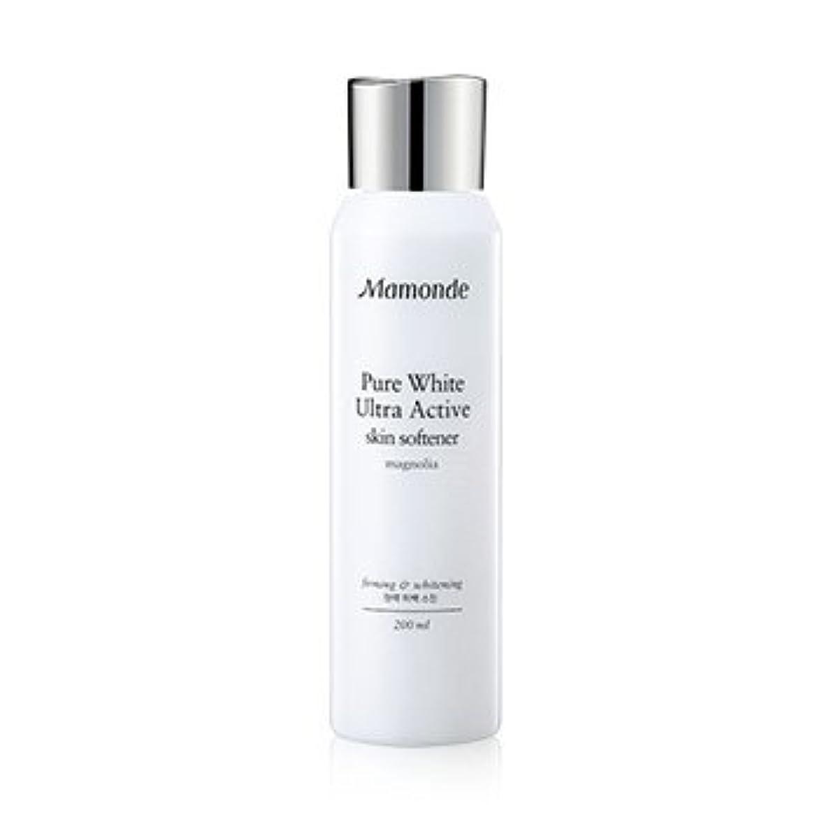 心のこもった制約始まりMamonde Pure White Ultra Active Skin Softener 200ml/マモンド ピュア ホワイト ウルトラ アクティブ スキン ソフナー 200ml [並行輸入品]