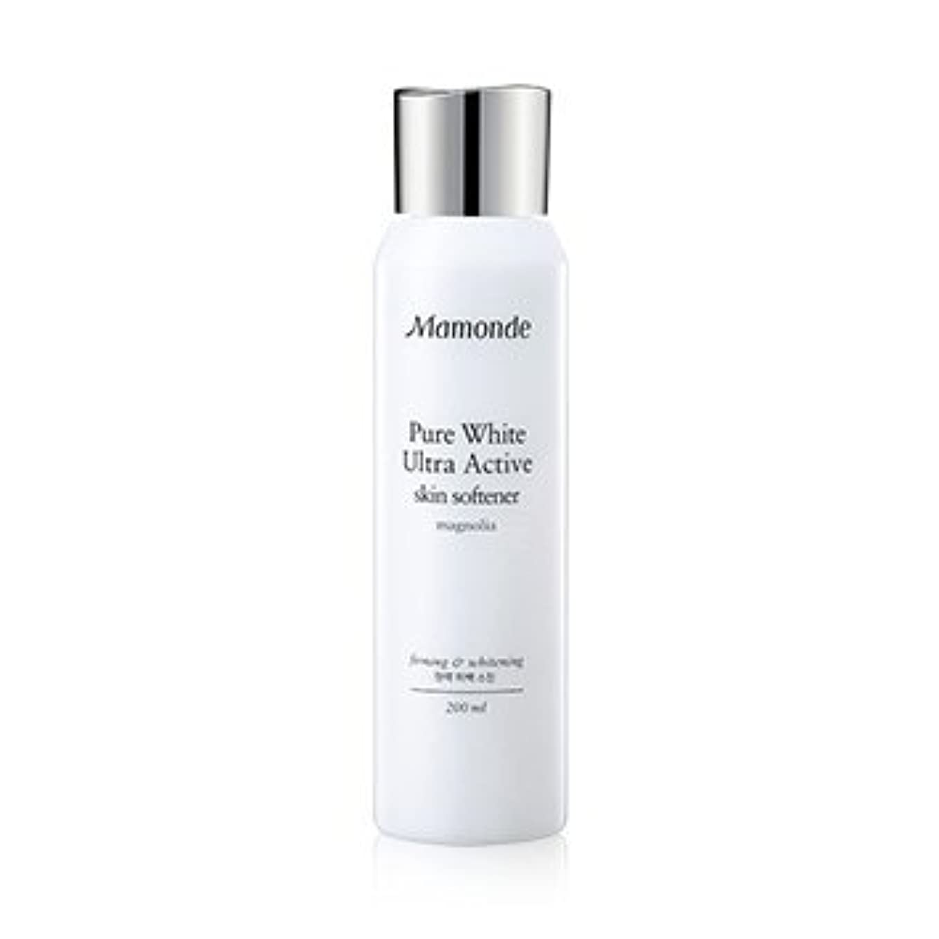 手数料付添人抽出Mamonde Pure White Ultra Active Skin Softener 200ml/マモンド ピュア ホワイト ウルトラ アクティブ スキン ソフナー 200ml [並行輸入品]