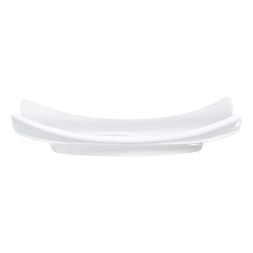 ARCOROC Feuille carré plat blanc 9,4 cm (Lot de 6)