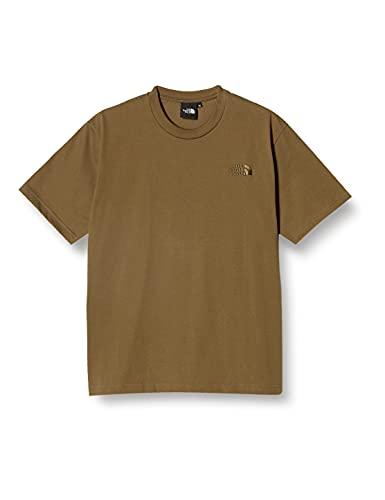[ザノースフェイス] Tシャツ ショートスリーブスモールワンポイントロゴティー メンズ NT32039 ミリタリーオリーブ L