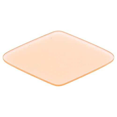 Voetvijl, ruit Draagbare eeltverwijderaar Ergonomische professional voor harde huid voor droge en natte voeten voor voetverzorging voor kraken(orange)