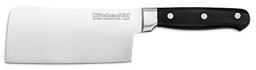 KitchenAid KKFTR6CLOB Classic Forged Series Triple Rivet Cleaver Onyx Black 6quot