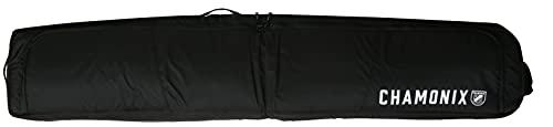 Chamonix Montroc Padded Wheelie Roller Ski Bag Sz 190cm Black