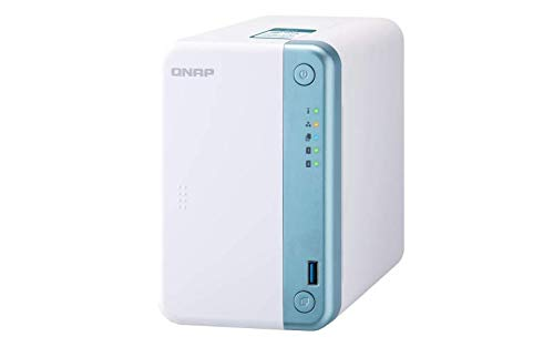 QNAP TS-251D-4G 2 Bay Home NAS mit Intel® Celeron® J4005 CPU und einem 1GbE Port