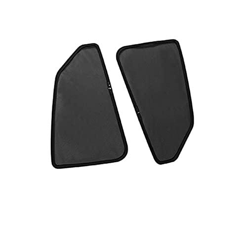 DJDEFK Parasoles para Coche Coche magnético Sun Shade Side Window Sombrilla para Toyota C-HR 2017 2018 Ventana Cortina Visor Shield Tapa de Malla Solar para CHR 2019 (Color : 2PC Rear)