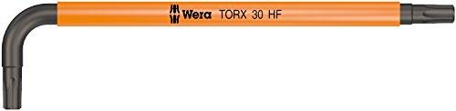 967 SL Torx HF Winkelschlüssel Multicolour mit Haltefunktion, TX 30 x 122 mm, Wera 05024177001