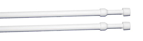 Bakerlin 33251, Portavisillos Extensible Redondo, 40-65 cm, Blíster de 2 Piezas