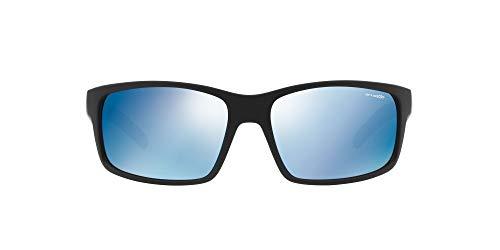 Arnette 0AN4202 226855 62 Gafas de sol, Negro (Fuzzy Black/Blueemirrorbluee), Hombre