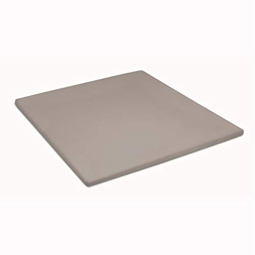 Cinderella topper hoeslaken jersey taupe 2-persoons XW - XL (160x200/210)
