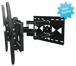 LG 55LW9800 LED 3D HDTV for Full Motion Articulating Dual Arm Tilting TV Wall Mount Bracket **TOP SELLER**