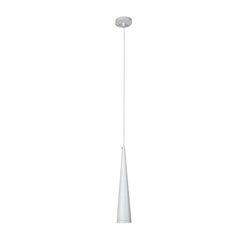 COCNI Comedor Minimalista Moderno Luces Colgantes LED Foco de Restaurante Tubo Largo Barra de luz de Alambre Colgante Cilíndrico Alambre Colgante Lámpara empotrada en Superficie