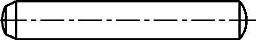 Zylinderstifte gehärtet, Stahl Toleranzfeld m6 DIN 6325-5 x 32-100 Stück