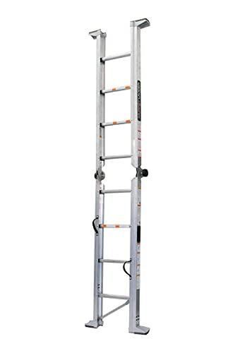 Murphy Ladders, ML9, 9ft Height 12ft Reach, Aluminum, Type IAA, 375lbs Weight Rating
