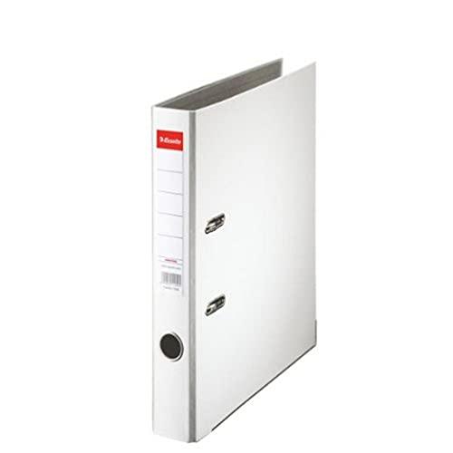 Leitz 81190 Folder A4 with Slits Eco-Friendly Plastic Slim White