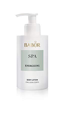 BABOR SPA Energizing Body Lotion, erfrischende Körperlotion, duftet nach frischem Apfel, Rosmarin, Eukalyptus & Lavendel, glättend, 200ml