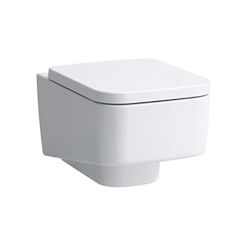 Laufen PRO S Wand Tiefspül-WC, spülrandlos, 360x530, weiß, Farbe: Weiß mit LCC