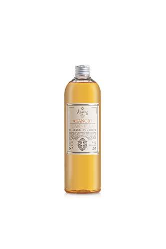LOGEVY - Ricarica da 500 ml per i Diffusori Arancio Cannella