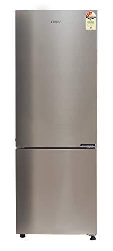 Haier 256 L 3 Star ( 2019 ) Frost-Free Double Door Refrigerator (HEB-25TDS, Brushline Silver/Dazzel Steel)