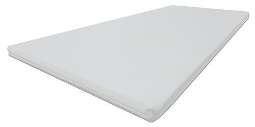 Dibapur® PRO Soft 3D Air Fresh Bezug Kaltschaum Topper Matratzenauflage (3D Air 150x190) x ca. 5 cm Kern mit Bezug ca. 5,2 cm - Made in Germany