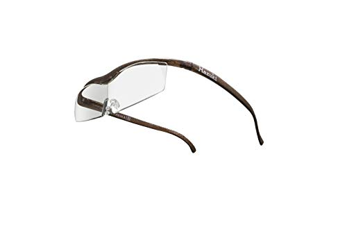 Hazuki ハズキルーペ 直営店 公式店 限定 倍率交換保証付き コンパクト 1.6倍 クリアレンズ ブラウン ハズキ 拡大鏡 ルーペ メガネ型 眼鏡型 めがね型 メガネ 眼鏡 めがね 日本製 MADE IN JAPAN ギフト