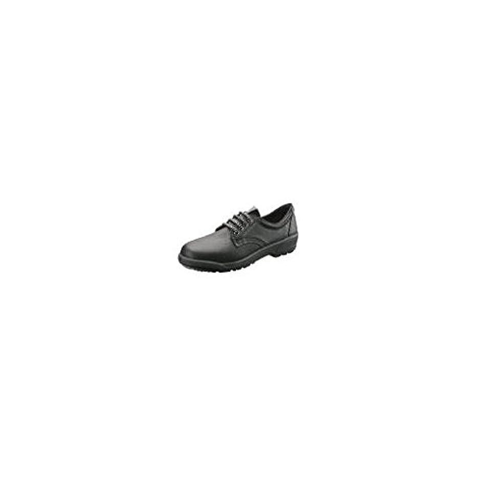 抽出クーポン穀物FW41522 安全靴 短靴 EL12黒(女性用) 25.0cm