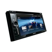 Sony XAV-W601 Double-Din DVD Car Stereo (Black)